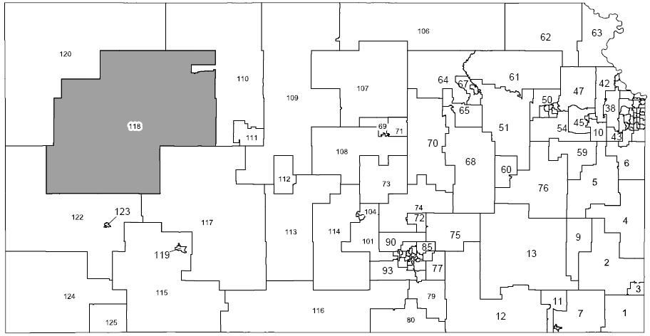 Kansas House District 118